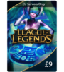 League of Legends £9