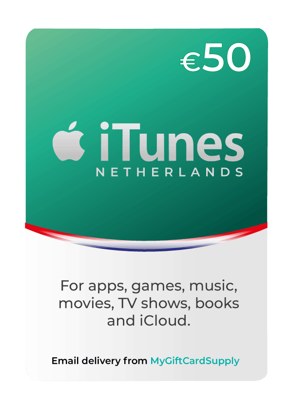 Netherlands iTunes Gift Cards
