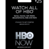 HBO NOW Gift Card Image
