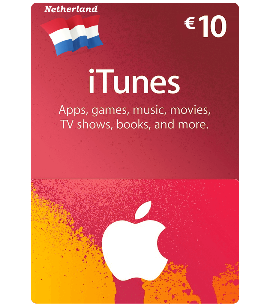 Buy Netherlands Itunes Gift Card Email Delivery Mygiftcardsupply