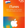 iTunes card $25 for Netherlands