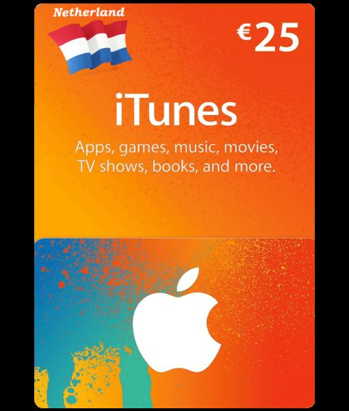 itunes-card-netherlands-25