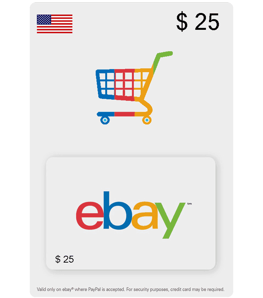 Ebay Digital Gift Card: Buy US EBay Gift Cards