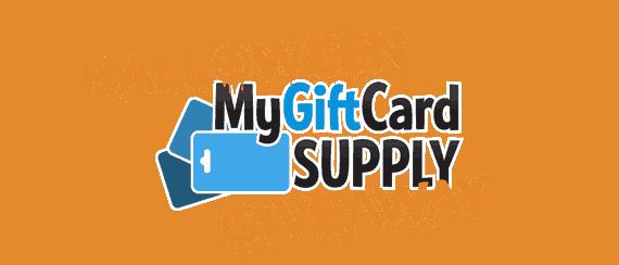 MyGiftCardSupply Halloween Giveaway