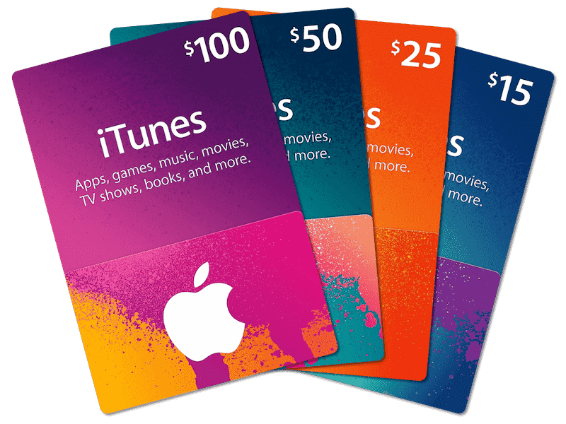 Buy iTunes gift cards Now