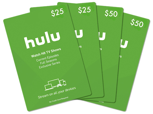 Hulu Gift Cards via Email