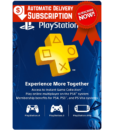 PSN Plus Subscription Gift Cards