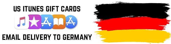 US iTunes Gift Cards for Germany