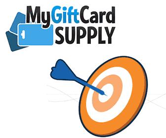 MyGiftCardSupply bullseye logo