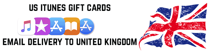US iTunes cards for UK
