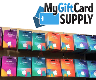 Wholesale gift cards with MyGiftCardSuppy flag