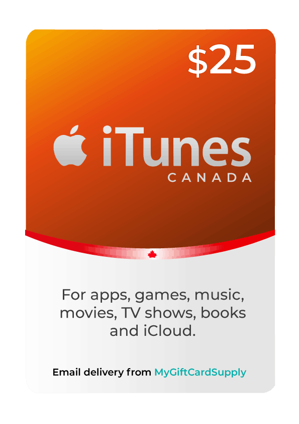 Canada iTunes Gift Cards