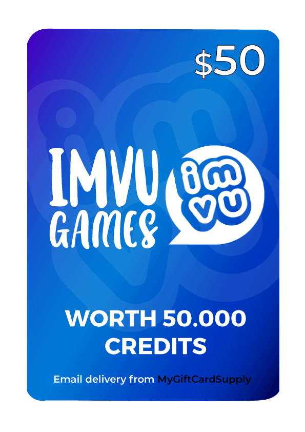Buy IMVU Gift Cards - Email Delivery - MyGiftCardSupply