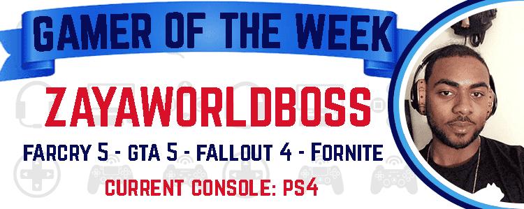 PSN Featured gamer ZAYAWORLDBOSS