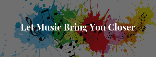 Music brings you closer banner image