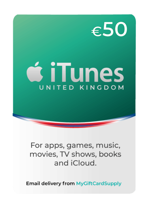 UK iTunes Card