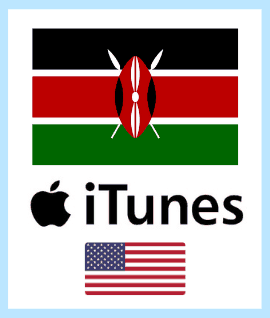 US iTunes Cards for Kenya