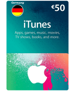Germany iTunes Card 50