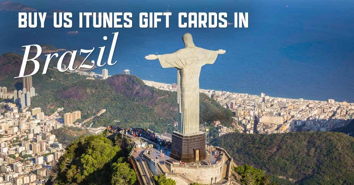 Buy US iTunes in Brazil