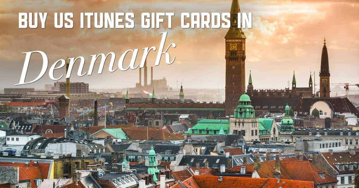 Buy US iTunes cards in Denmark