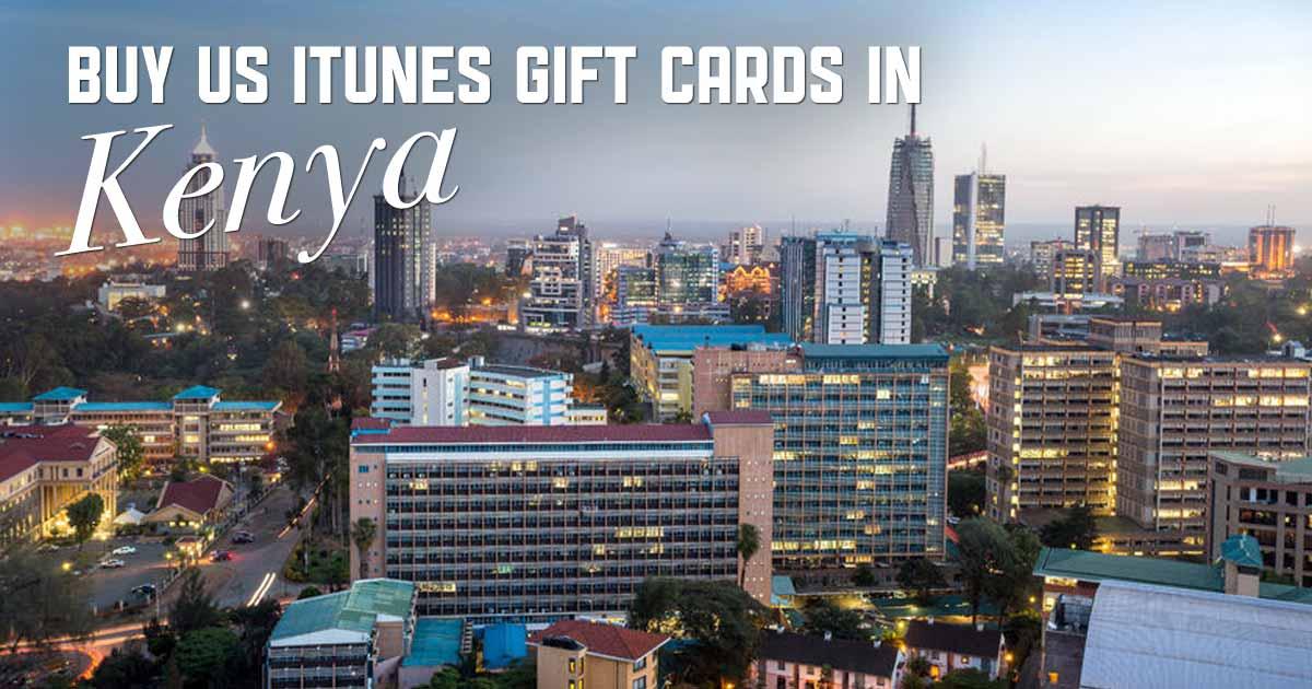 Buy US iTunes in Kenya