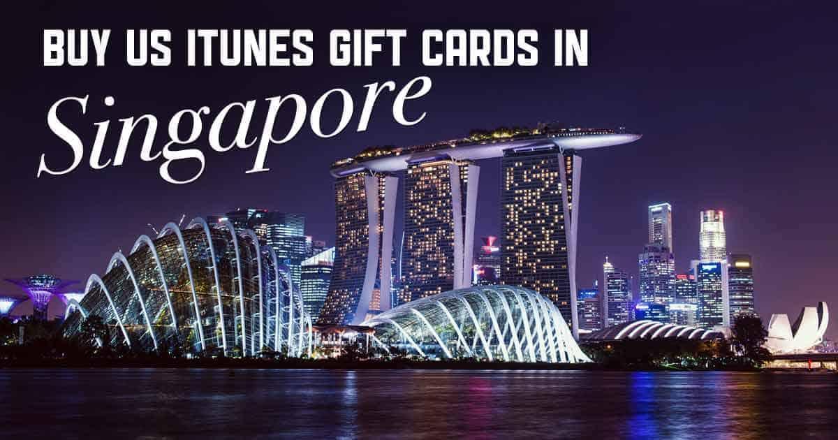 Buy US iTunes in Singapore
