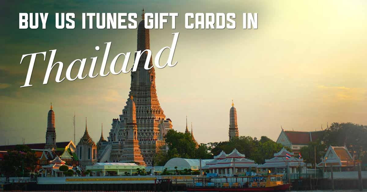 Buy US iTunes in Thailand