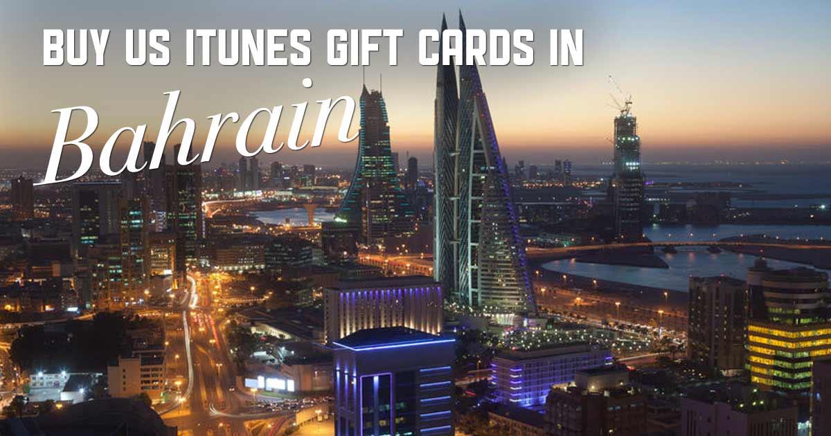 Shop US iTunes in Bahrain