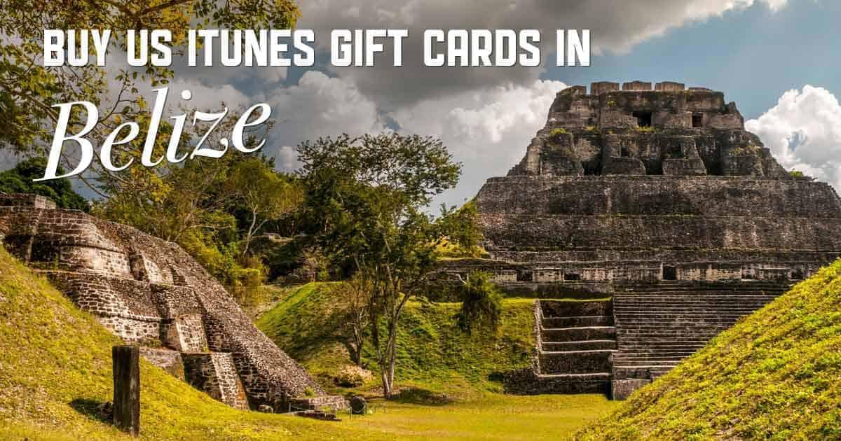 Shop US iTunes in Belize