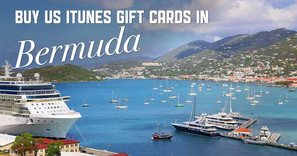 Shop US iTunes in Bermuda