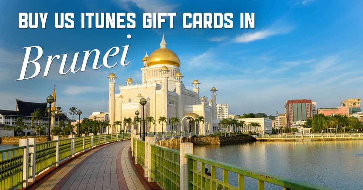 Shop US iTunes in Brunei