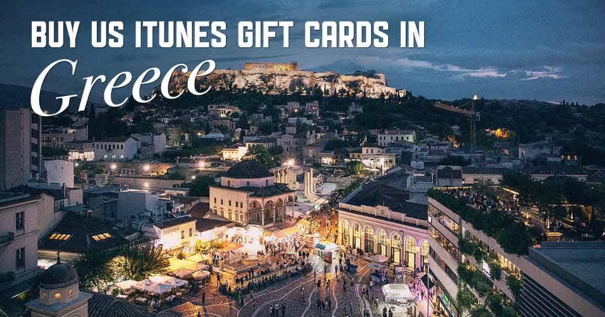 Shop US iTunes in Greece