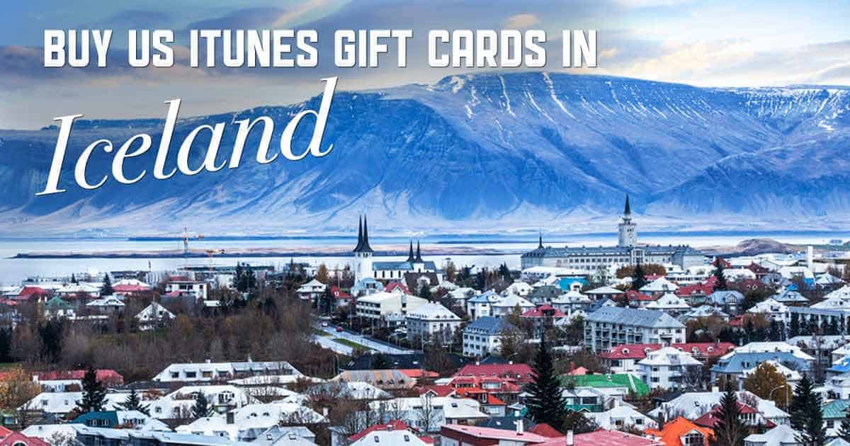 Shop US iTunes in Iceland