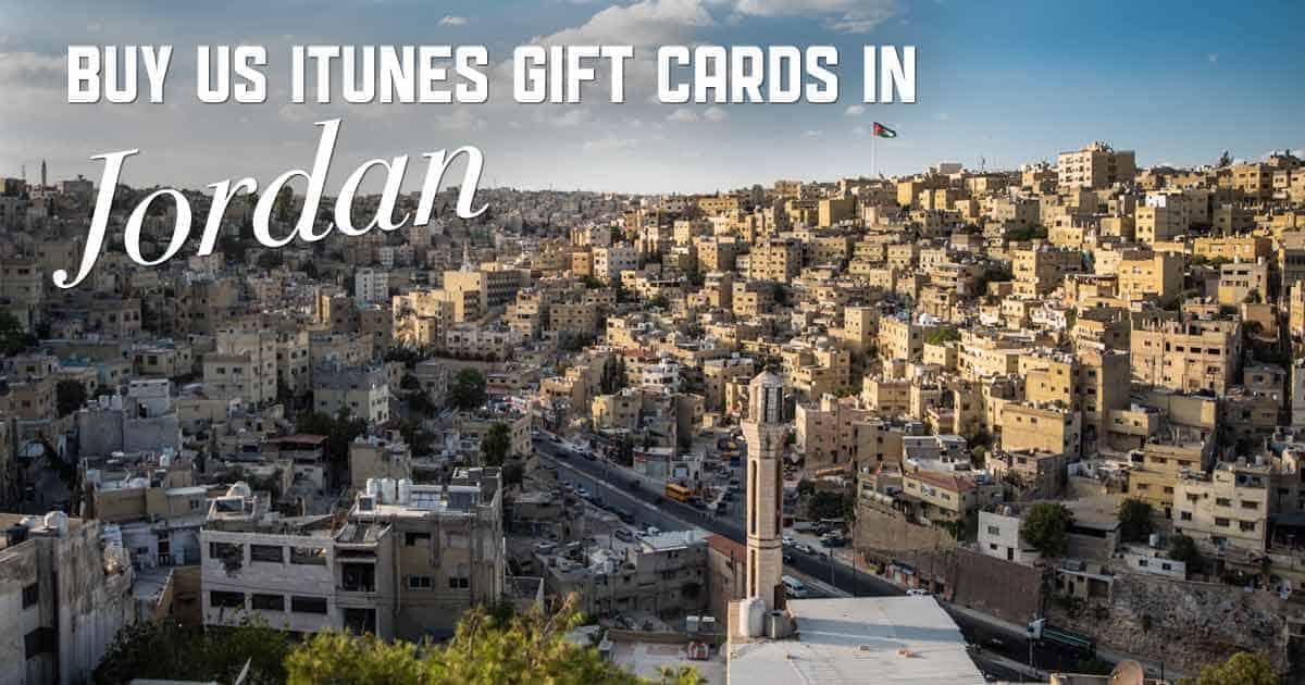 Shop US iTunes in Jordan