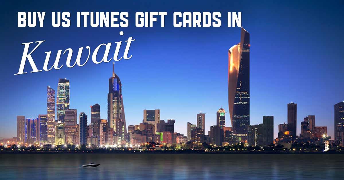 Shop US iTunes in Kuwait