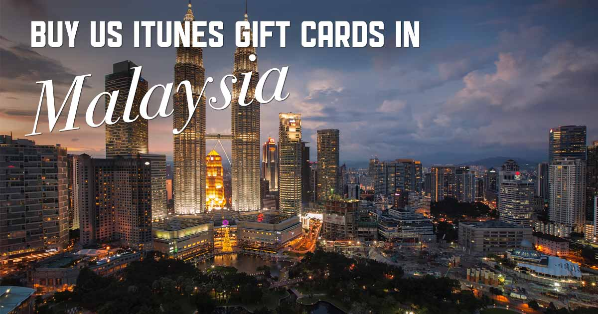 Shop US iTunes in Malaysia