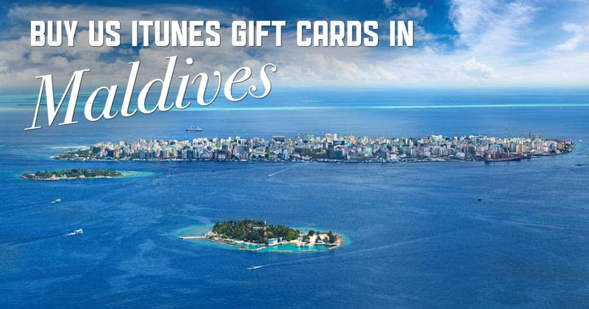 Shop US iTunes in Maldives