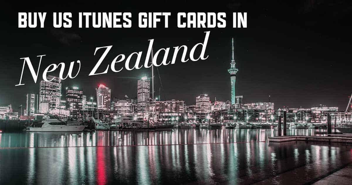 Shop US iTunes in New Zealand