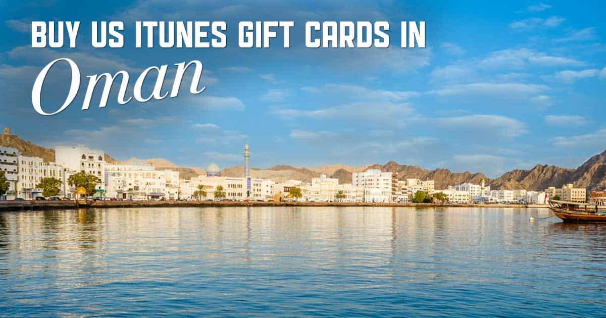 Shop US iTunes in Oman