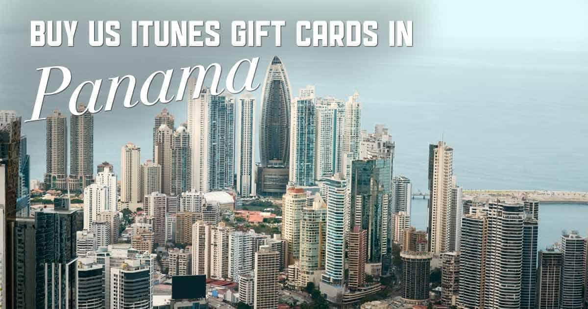 Shop US iTunes in Panama