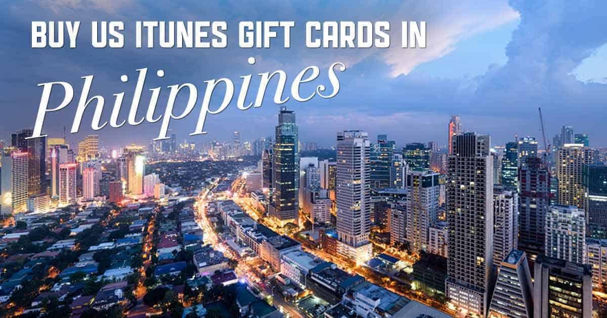 Shop US iTunes in Philippines