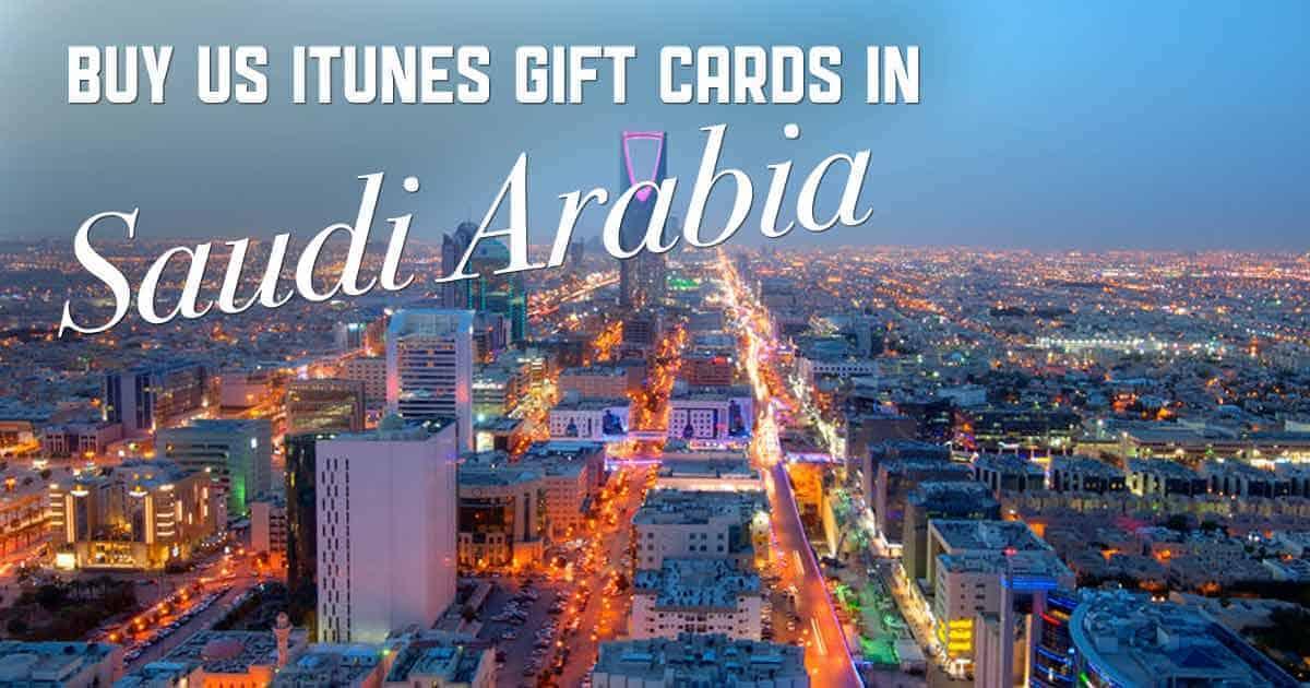 Shop US iTunes in Saudi Arabia