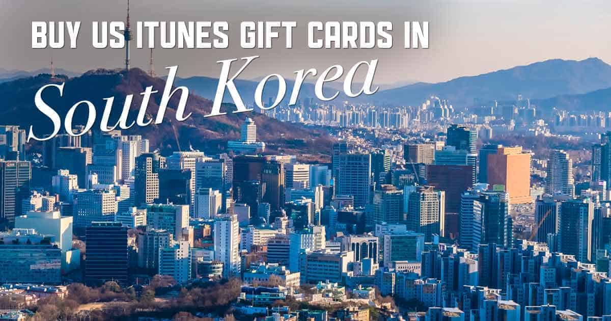 Shop US iTunes in South Korea