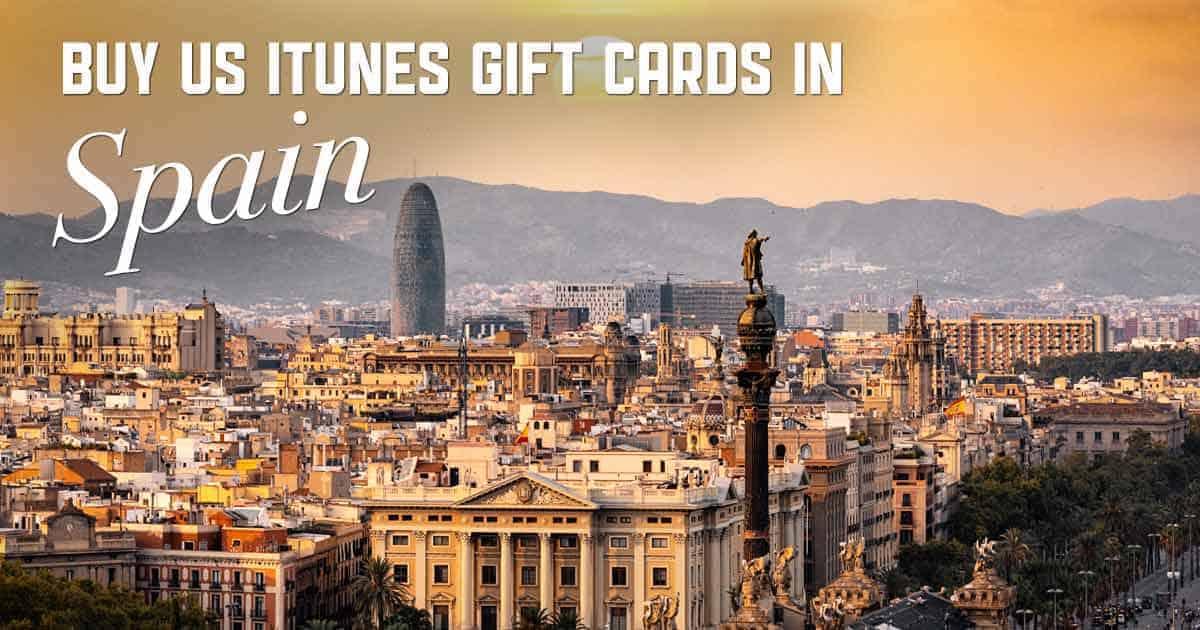 Shop US iTunes in Spain