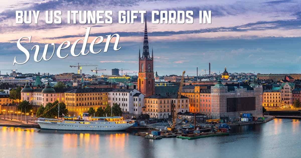 Shop US iTunes in Sweden