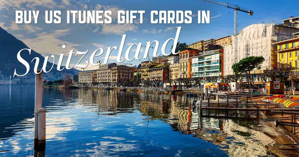 Shop US iTunes in Switzerland