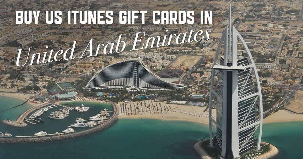 Shop US iTunes in UAE