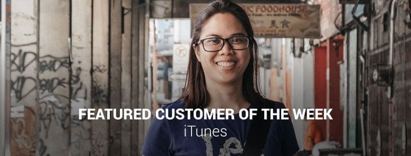 iTunes Customer of the Week
