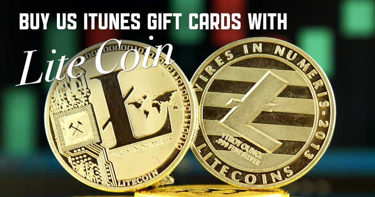 Shop US iTunes with Litecoin