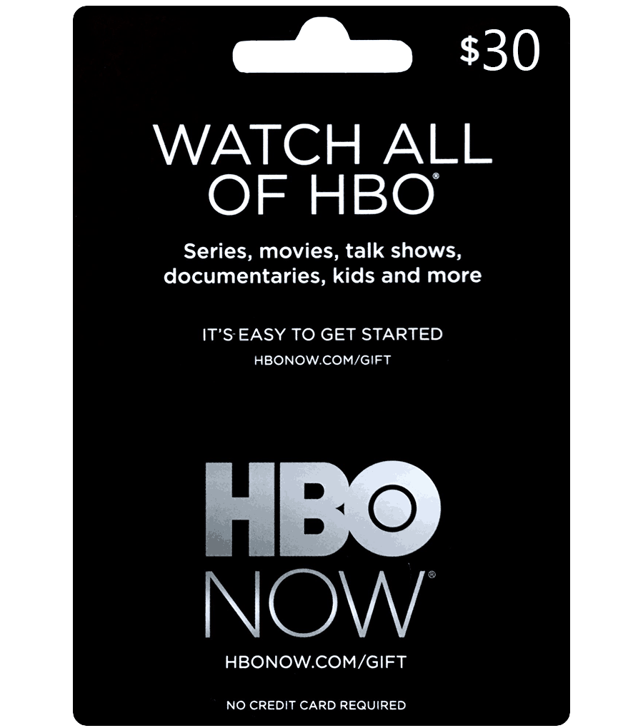 Buy Us Hbo Gift Card Digital Email Delivery